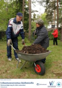 Motionsrådgivning för äldre människor