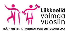 Liikkeellä voimaa vuosiin logo