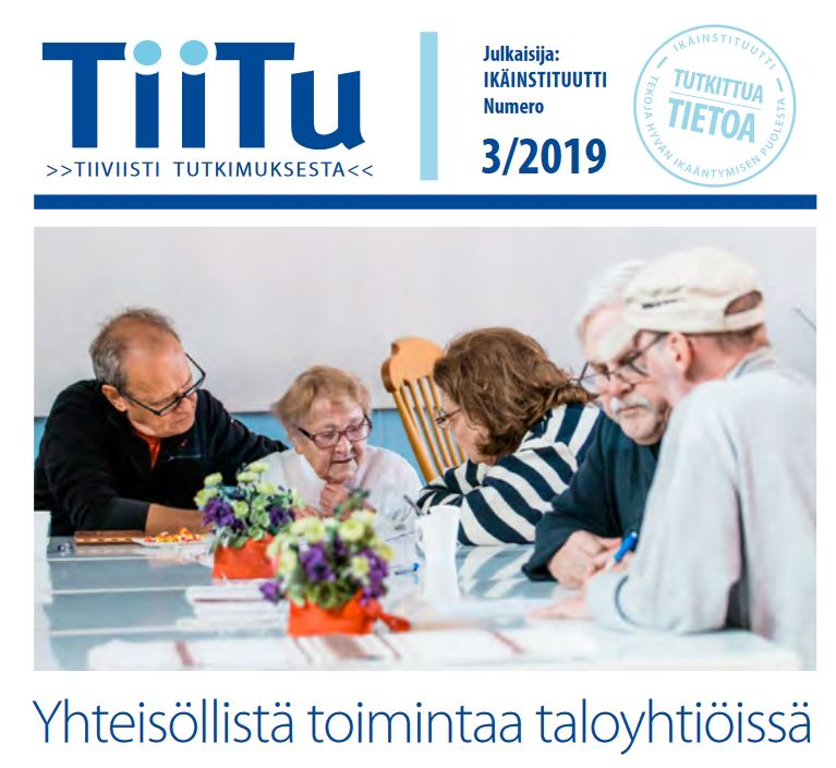TiiTu 3/2019: Yhteisöllistä toimintaa taloyhtiöissä